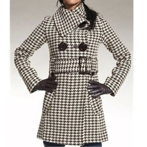 Soia & Kyo Wool Houndstooth Jacket S